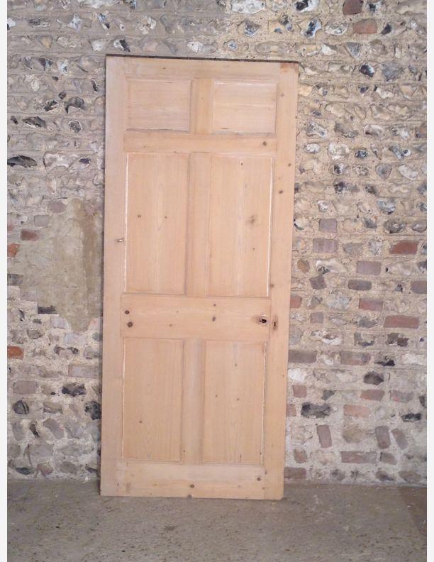 414 Georgian Style 6 Panel Interior Door Historic Doors