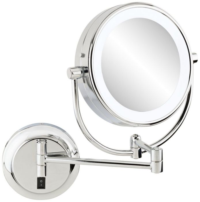 Kimball Young Neomodern Led Lighted Wall Mirror Warm White Light Color Led Makeup Mirror Lighted Wall Mirror Mirror