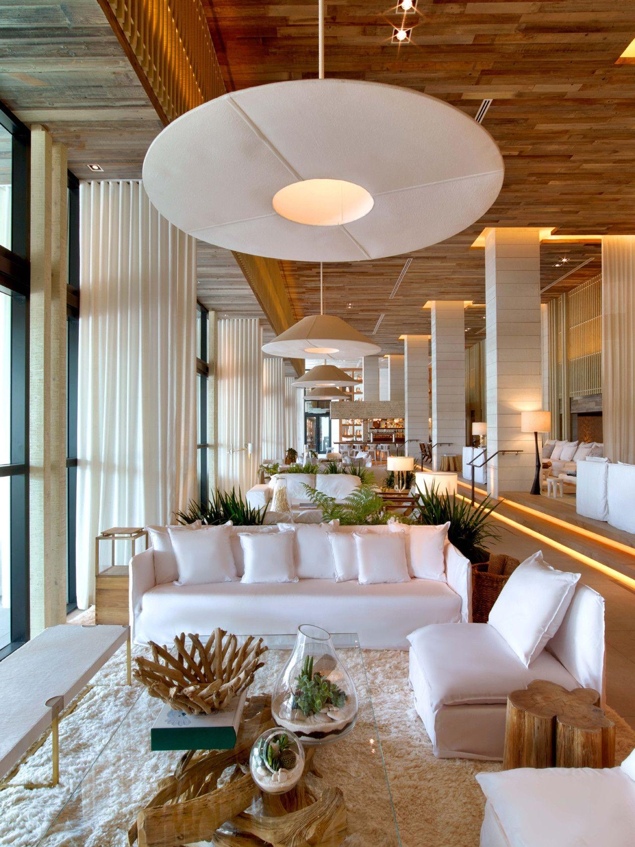 Inside the new 1 Hotel South Beach Miami | Hoteles, Salas de espera ...