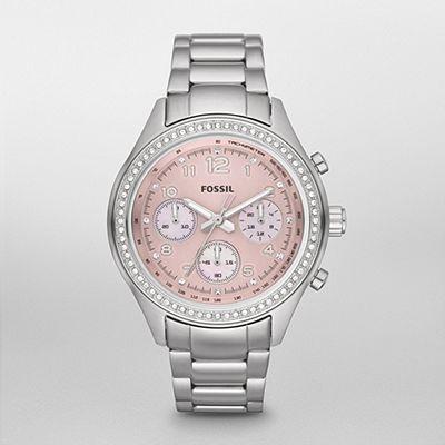 FOSSIL Watch, Flight Stainless Steel Watch CH2798 | WatchStation®