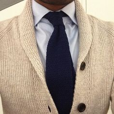 Winter style cream cardigan and navy accents #Mens #Fashion ...
