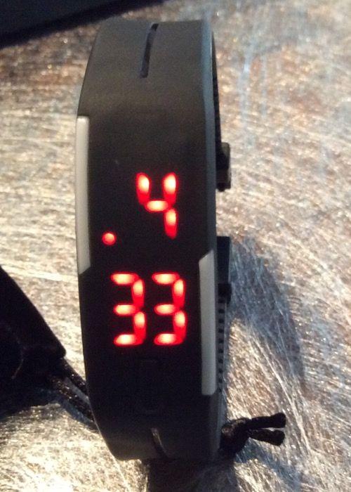 JSDDE - Uhren, Touch - Screen Digital LED Armbanduhr