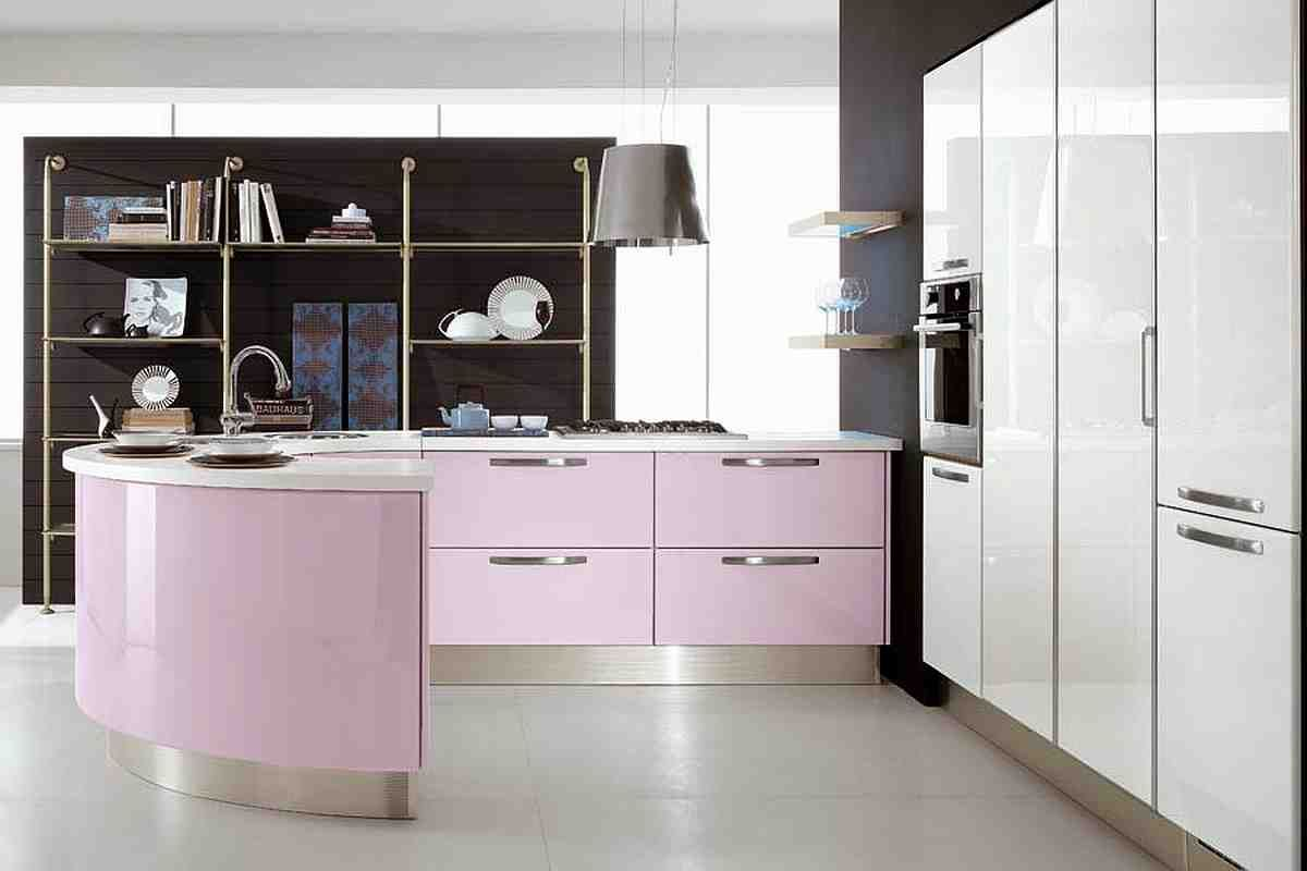 Modern Curved Kitchen Island A Kitchen Island Have Many Purposes And That Is Why It Is A Common