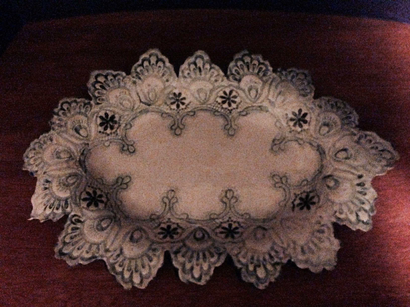 Lace Bowl Platter