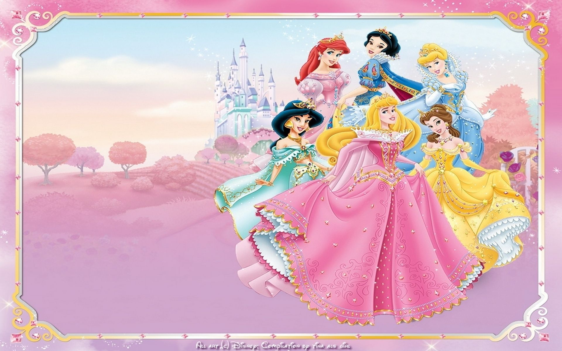 Disney Princess Wallpapers Disney princess wallpaper