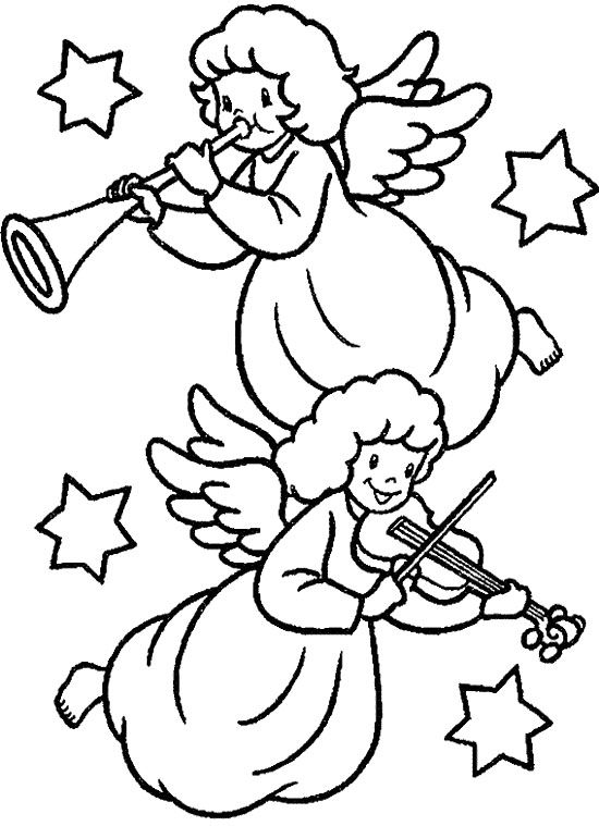 Christmas Angel Coloring Pages Angel Christmas Coloring Page Is