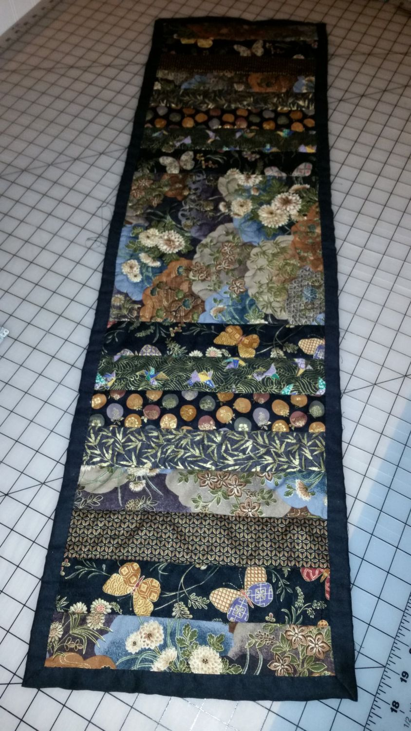 Gorgeous Asian Inspired Table Runner By Createconnectcure On Etsy