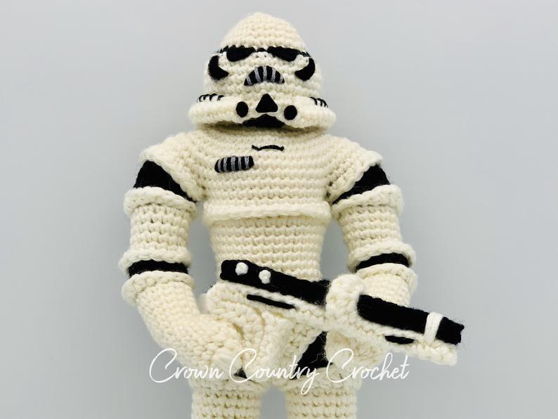 CROCHET PATTERN Galactic Minion Crochet Pattern // Amigurumi // Nerd Crochet // Toy Crochet // Minion Crochet // Space Crochet