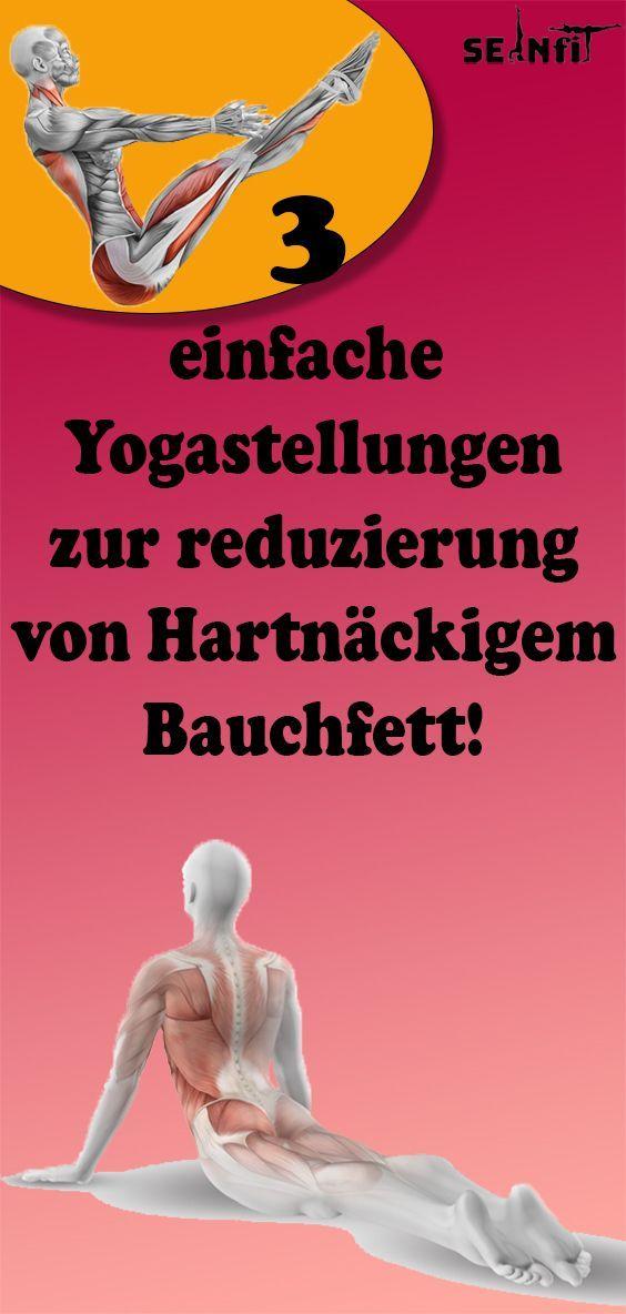 #fitness 3 einfache Yogastellungen zur reduzierung von Hartnäckigem Bauchfett!