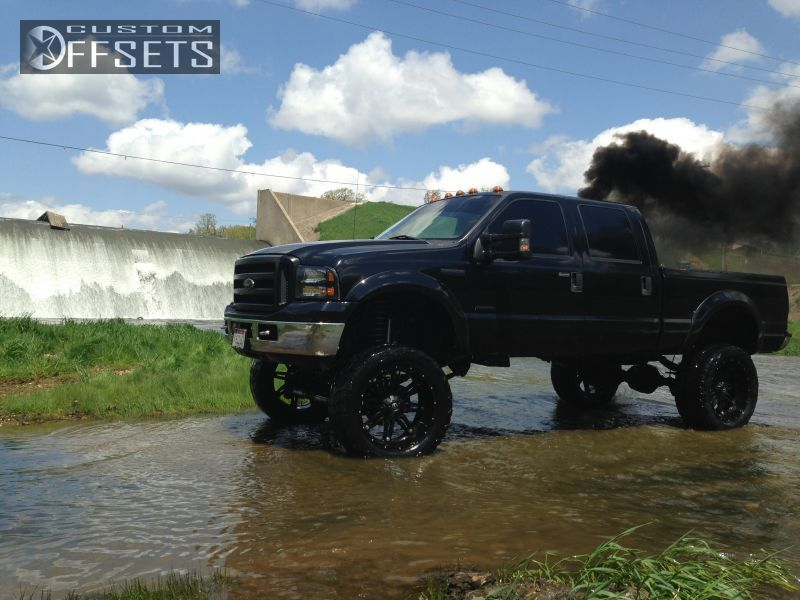 86 5 2007 F 250 Super Duty Ford Suspension Lift 9 Fuel Hostiages