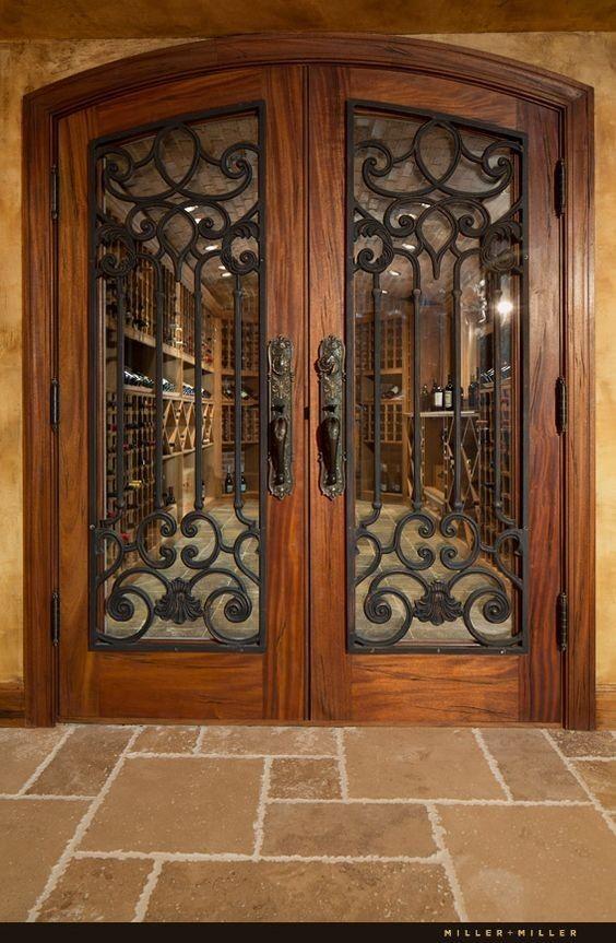 Top 15+ modern wrought iron doors for an elegant setting …