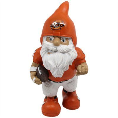Oklahoma State Cowboys Action Pose Gnome