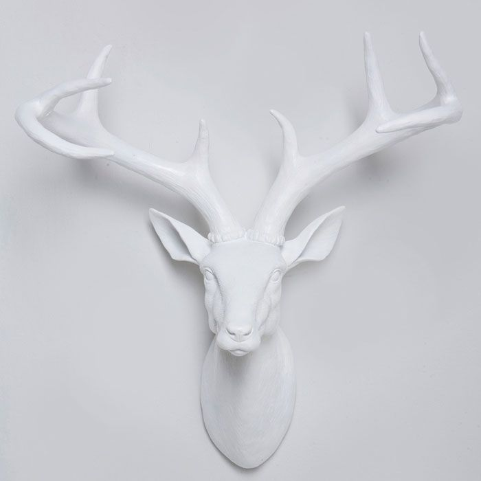 Awesome Reindeer Head Wall Decoration Pictures Home Design Ideas