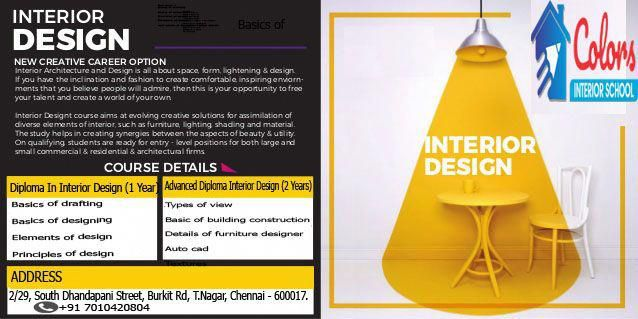 We offers interior designing course in chennai interiordesigncourses also rh pinterest
