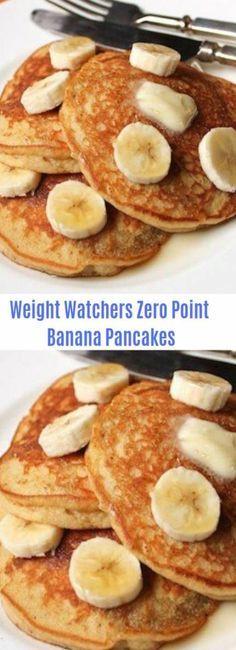 Photo of Weight Watchers Banana Pancakes