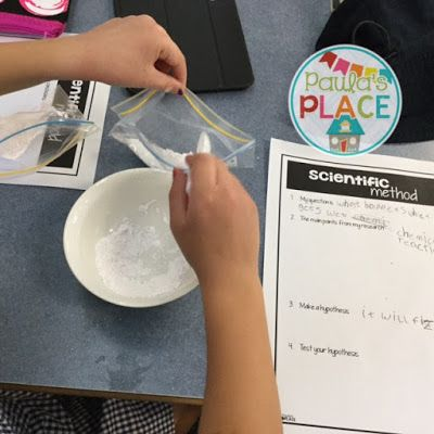 Chemical science - using fun foods