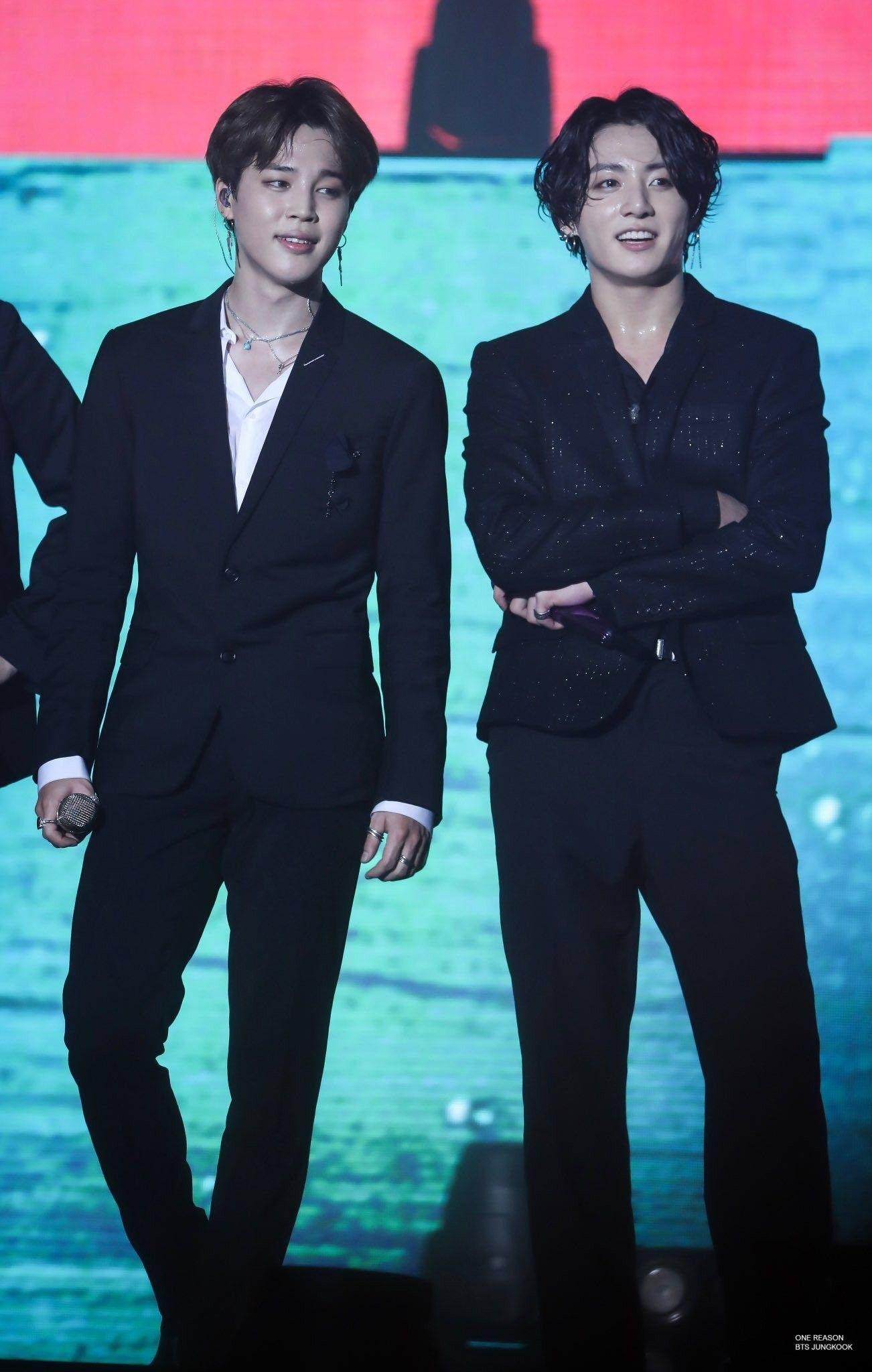 Jungkook & Jimin 11082019 #jungkooklonghair