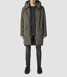 AllSaints Cannon Parka Coat   Menswear   Pinterest   Parka, Coat und ... 1feb02d907