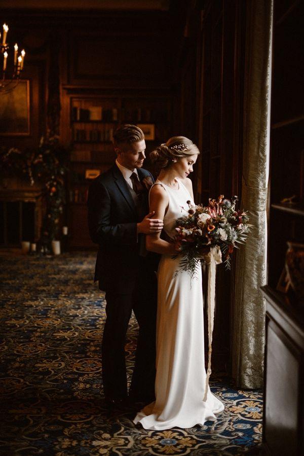 Inspiration élégante pour un mariage d'hiver   – Winter Wedding