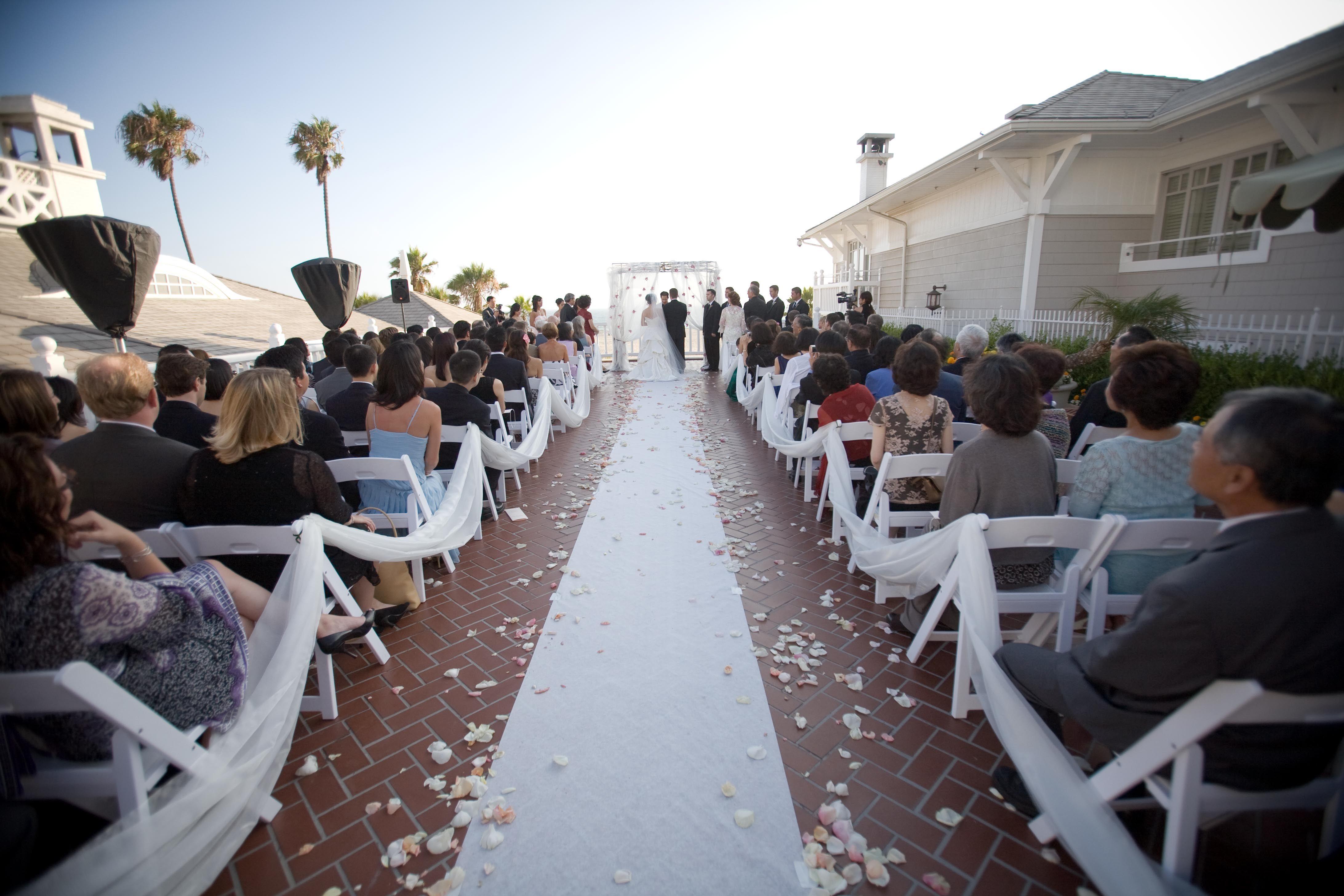 Terrace Wedding At Luxury Hotel Shutters On The Beach Santa Monica California