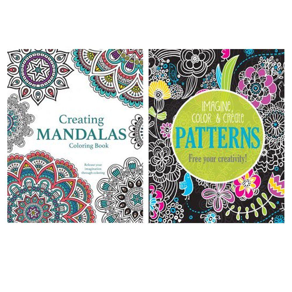 Adult Coloring Books Walmart Elegant 6 Adult Coloring Book Mandala Geometrical Designs Stress Relief Relaxat Vintage Coloring Books Coloring Books Mandala Coloring