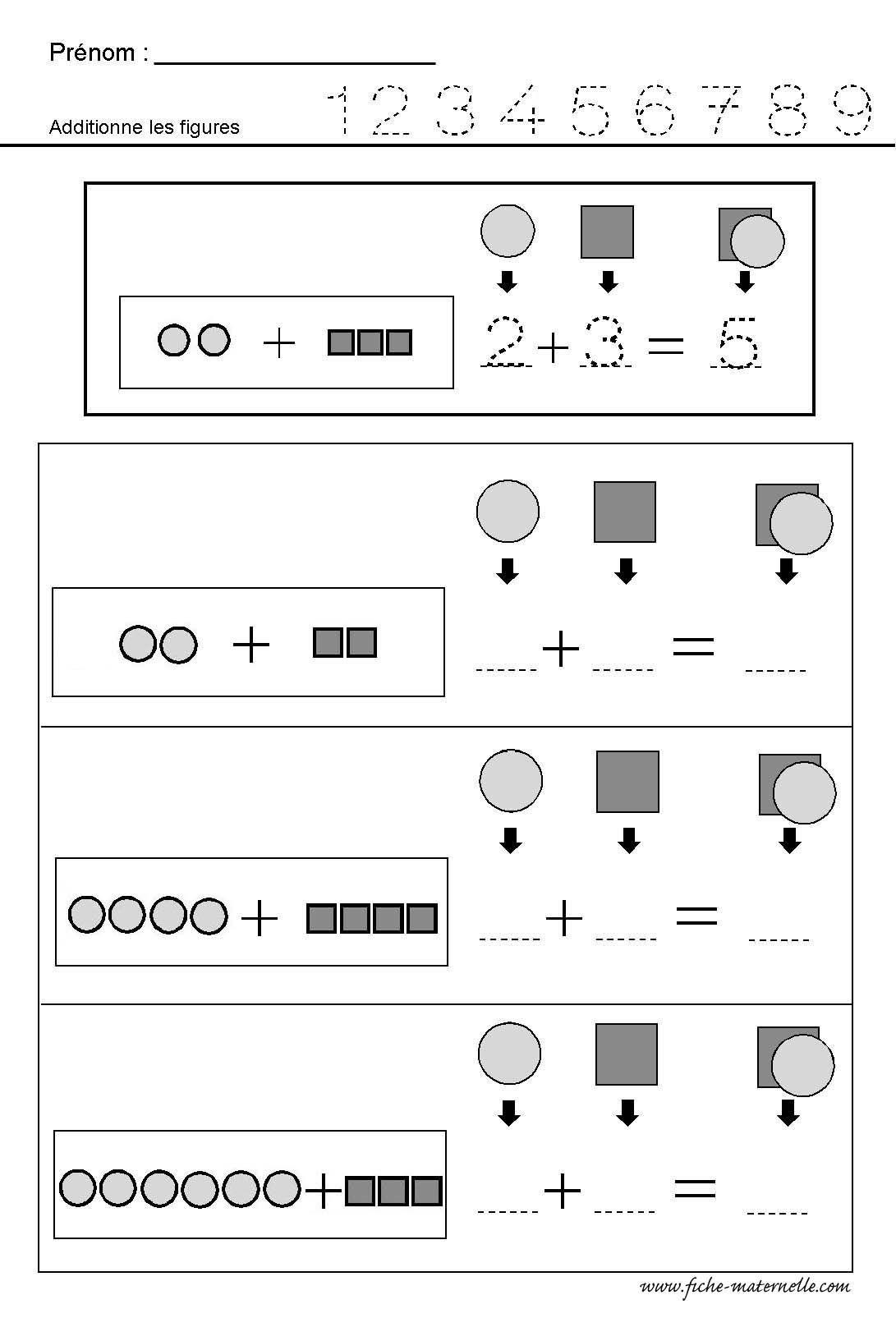 Mathématiques : ADDITIONNER des quantités | Mathématiques ...
