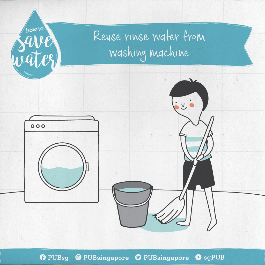 How To Save Water Reuse Rinse Water From Washing Machine