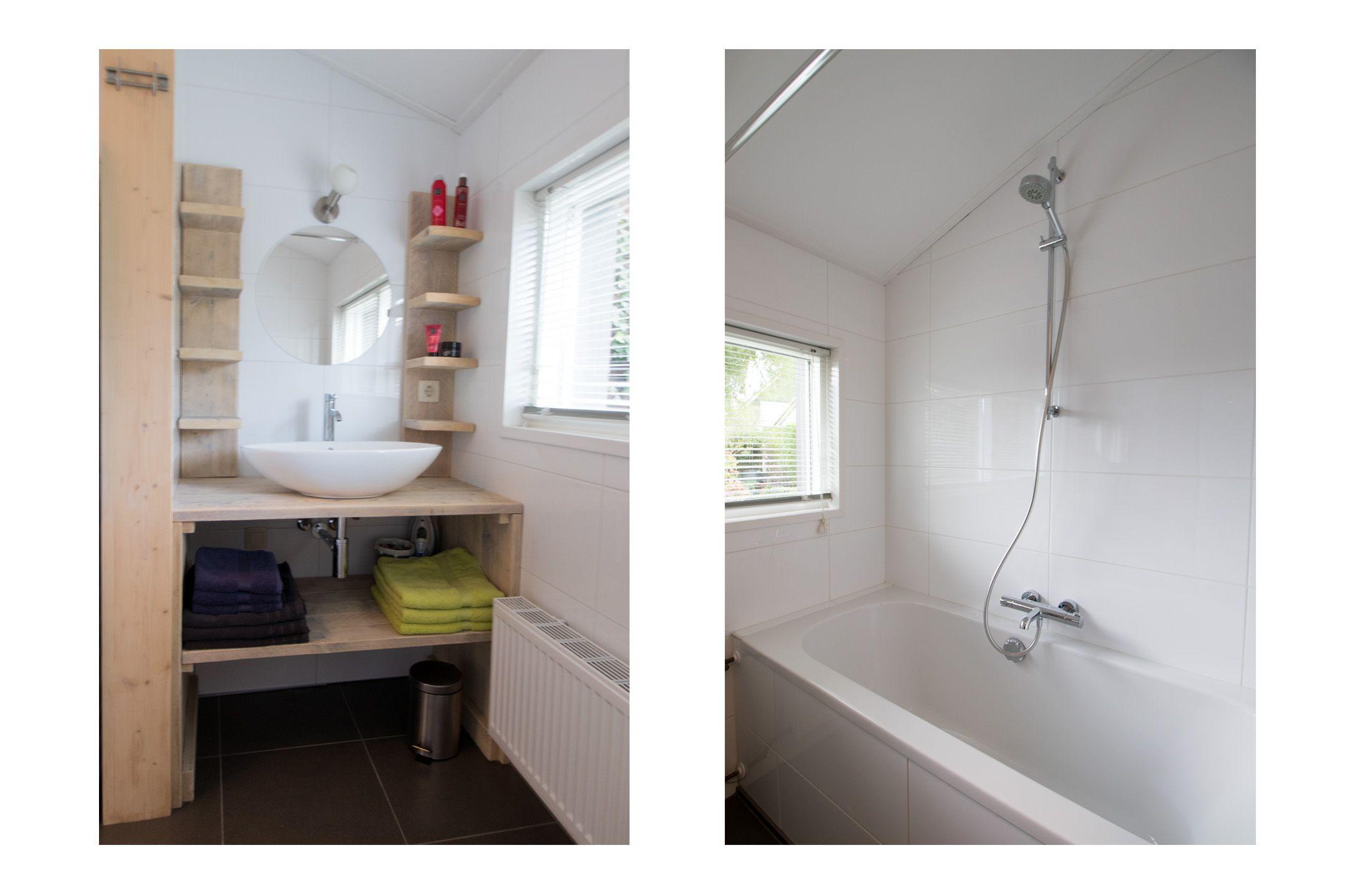 Wasmachine In Badkamer : Badkamer knieschot lade slaapkamer inbouwkasten zolder idee voor