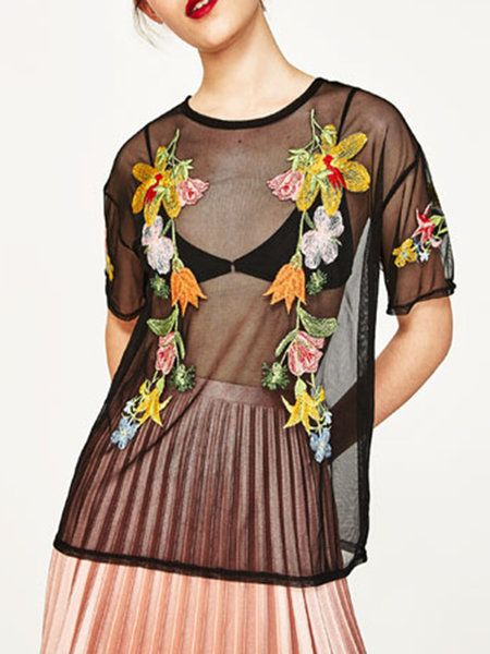 Image result for embroidered mesh