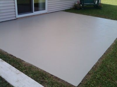 A Concrete Overlay Makeover Can Transform Your Ugly, Worn Out, Pitted, And  Stained