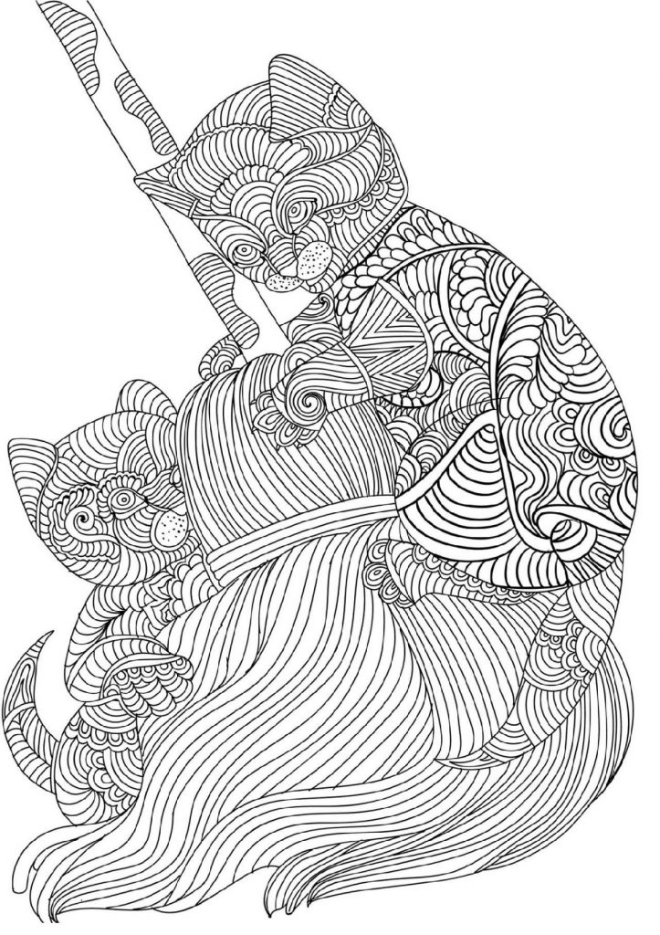 Free Online Coloring Pages For Adults 101 Coloring Free Online Coloring Cat Coloring Book Online Coloring
