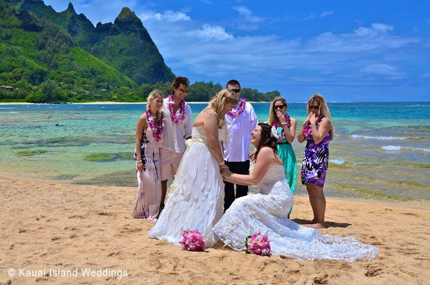 Kauai Hawaii Wedding Planners Offering Same Sex Civil Union Weddings And Committment Ceremonies