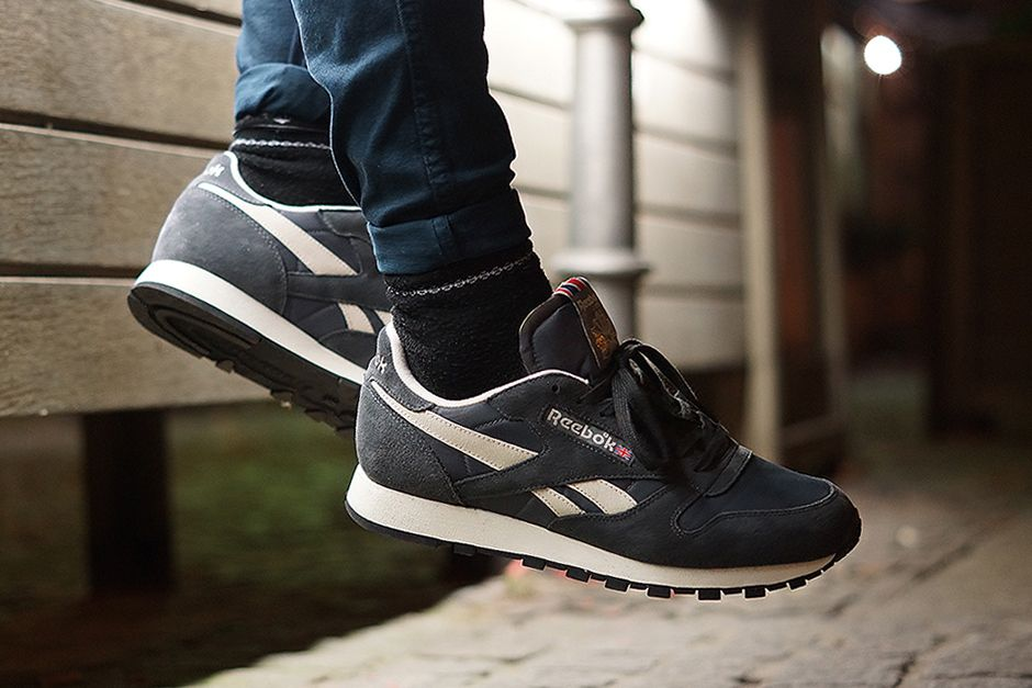 classic leather vintage reebok hiking