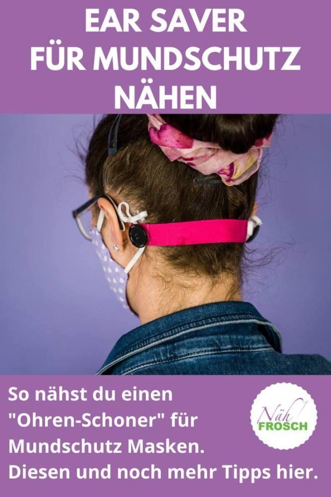 Photo of Ear Saver: Anleitung für ein Knopf-Band für genähte Mundschutz Masken