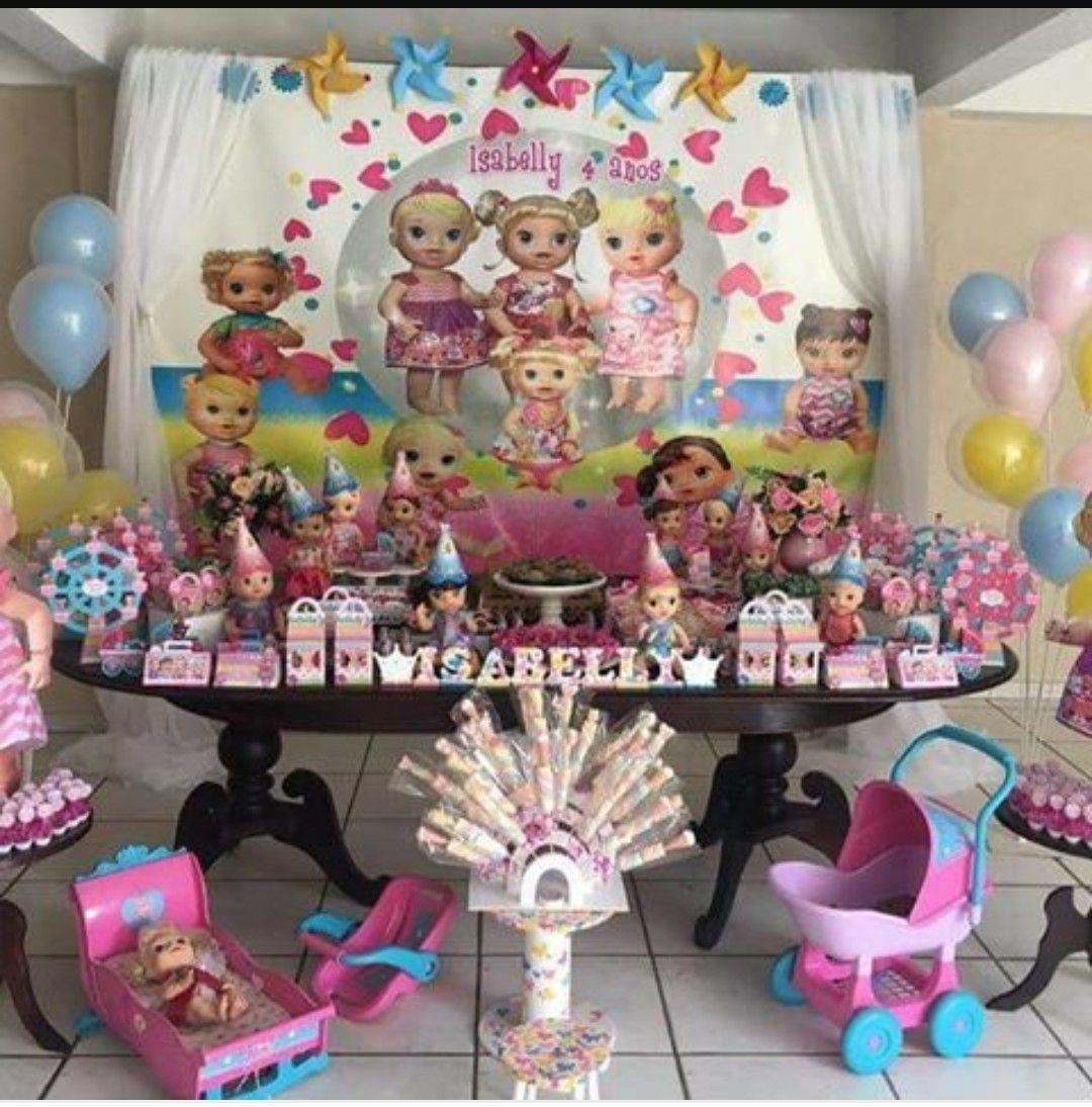 Pin By Chrisangel Perez On Festa Baby Alive Baby Alive Kids Birthday Party Kids Birthday