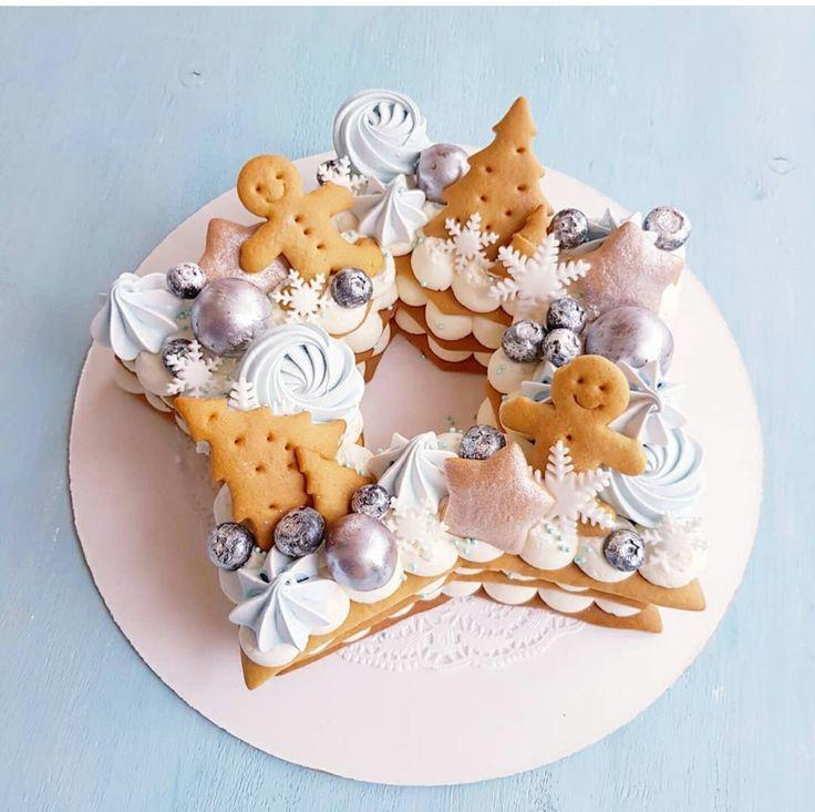 Ideas de pudín de fiesta de Navidad, pan de jengibre, shortbread y estrellas de merengue …