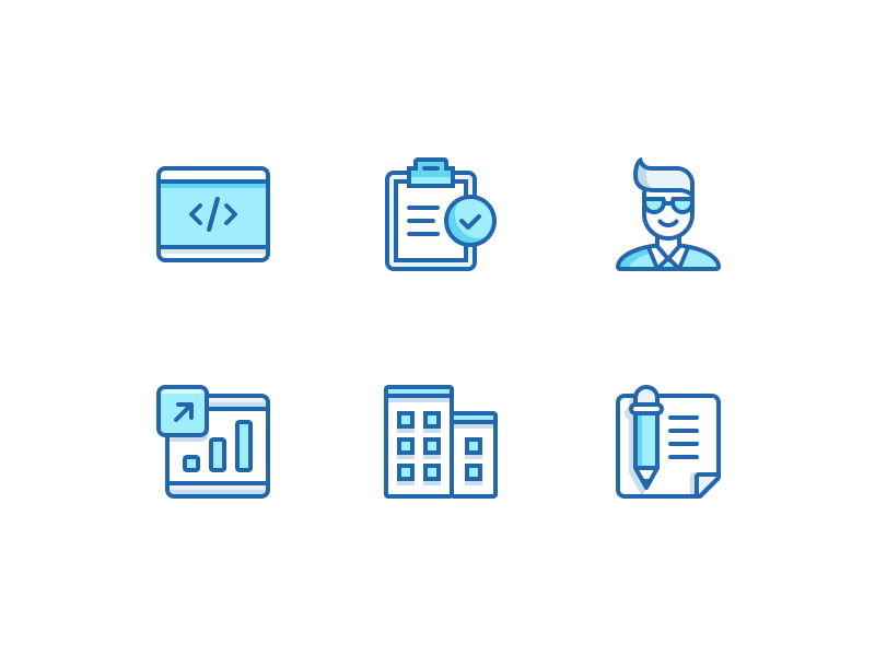 Job Category Icons Business Icon Icon Icon Design