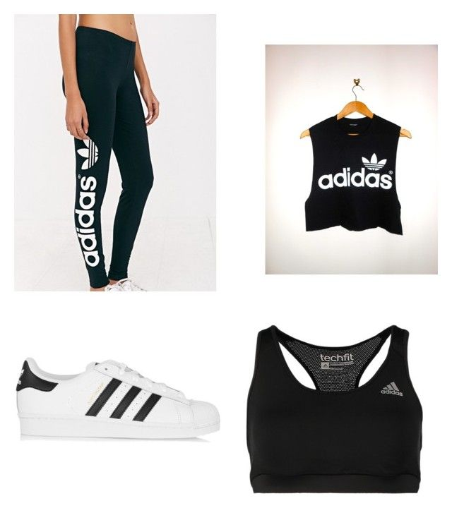 """Sport Outfit"" by semra12 ❤ liked on Polyvore featuring moda, adidas y adidas Originals"