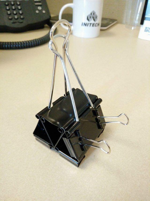 Clip Cord Holder Organization Hacks Household Hacks Binder Clips