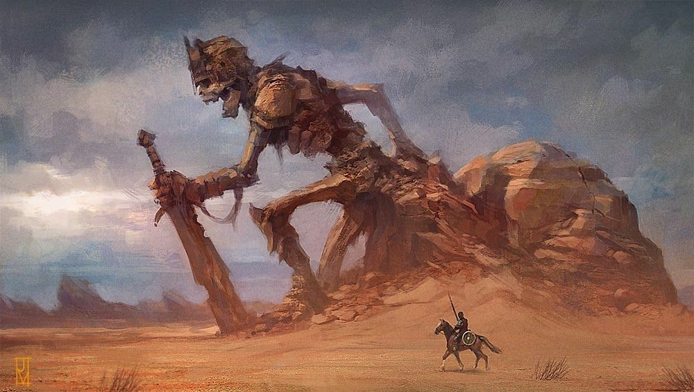 Epic fantasy art dump! #desertlife