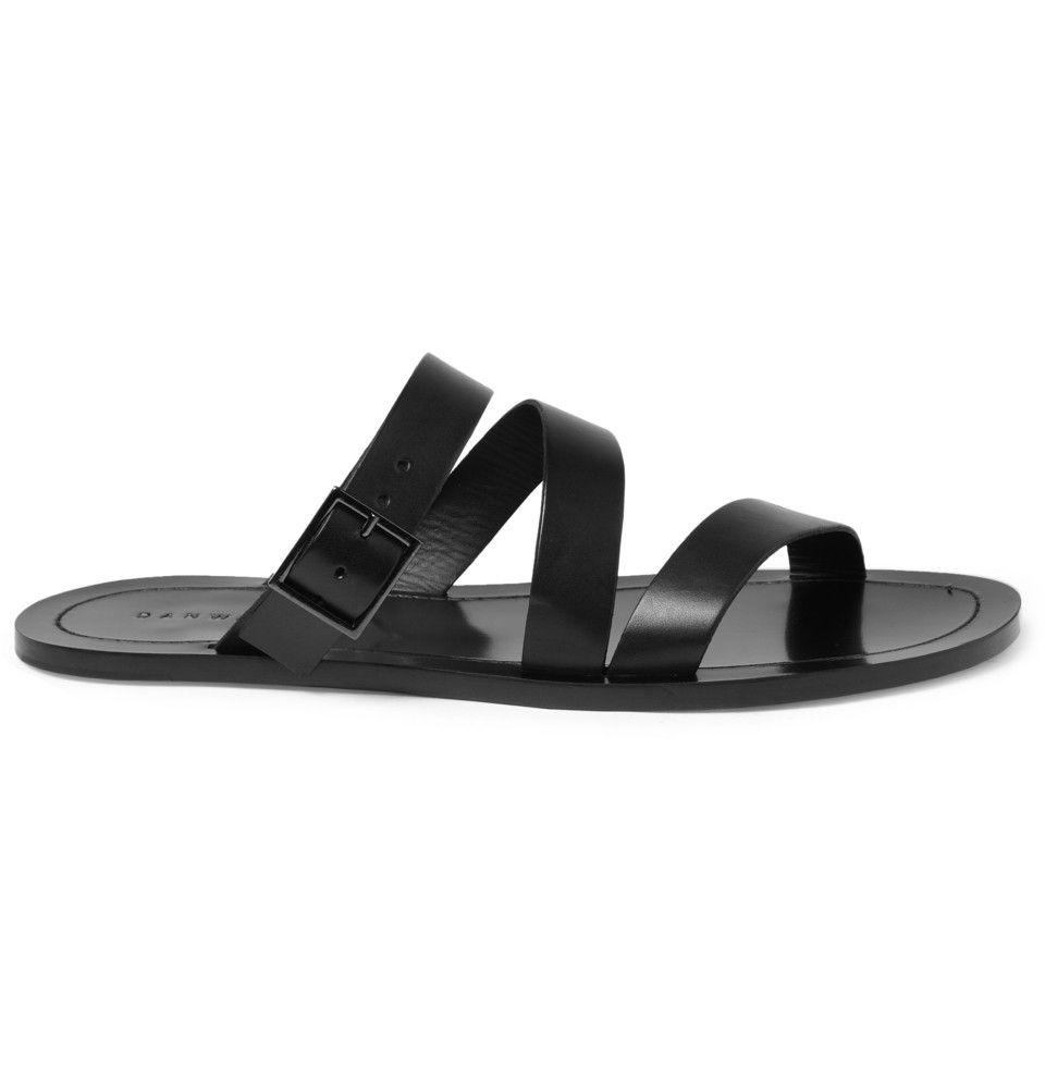 ae2679a1e76ae Dan Ward Leather Sandals