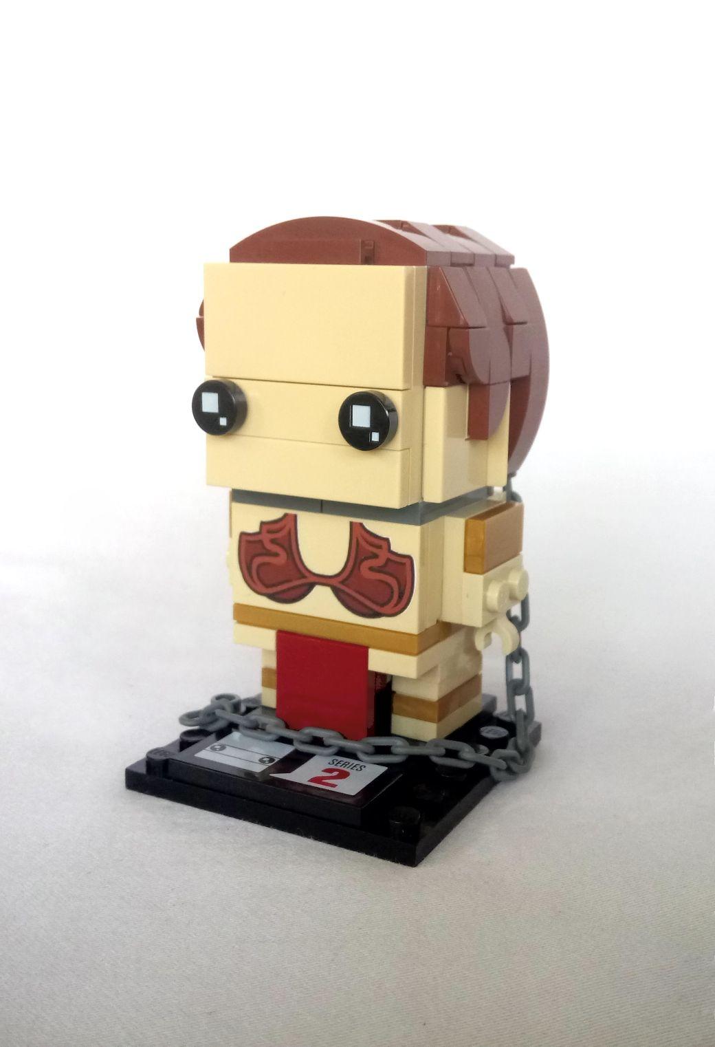 Lego Brickheadz Slave Leia By Tom Vanhaelen Models