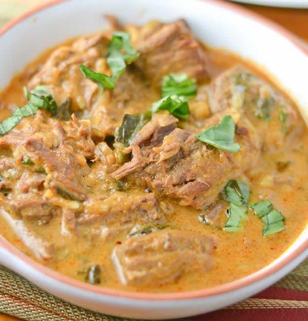 Sauté de veau au curry avec thermomix