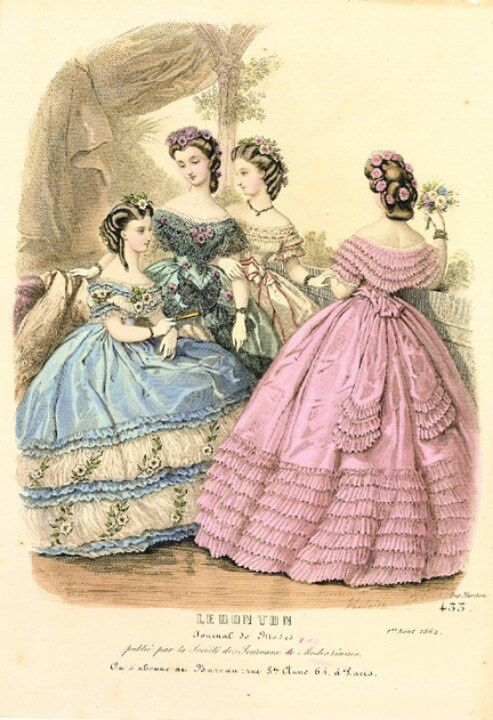 19th Century Victorian Fashion Victorian Fashion Fashion Plates Civil War Fashion