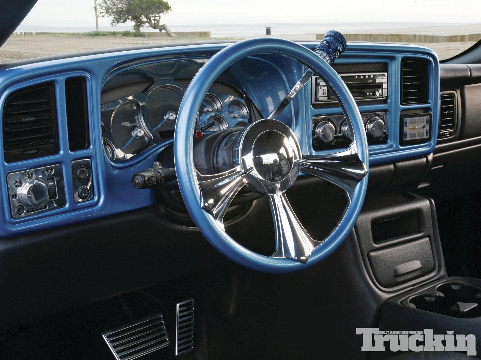 1302tr 06 2000 Chevy Silverado Painted Dash