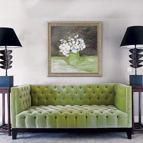 tufted kiwi sofa decor pinterest green velvet sofa sofa and rh pinterest com Blue Kiwi Red Kiwi