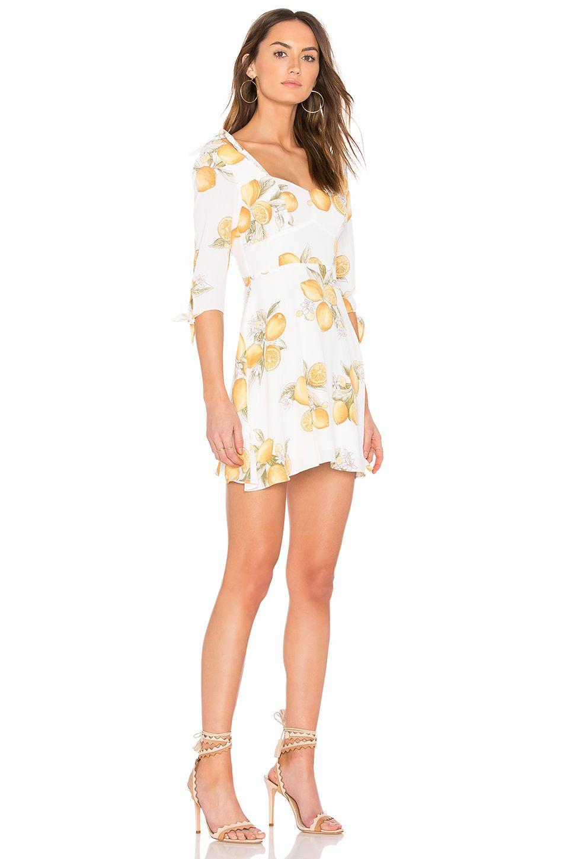 290eab7268c9 For Love   Lemons Limonada Mini Dress in Lemon
