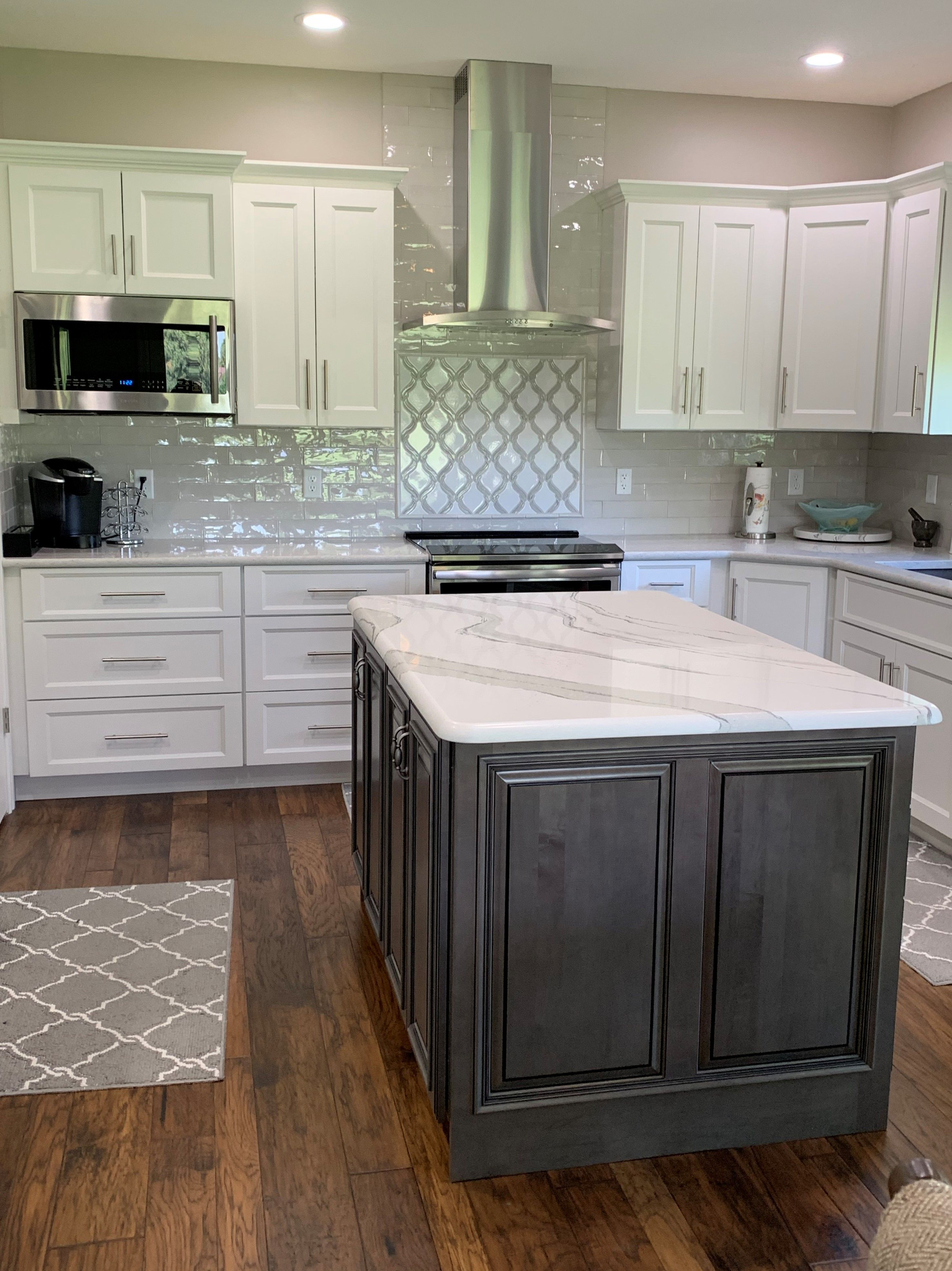 National Service Custom Cabinets Kitchen Tune Up Kitchen Without Wall Cabinets Cheap Kitchen Remodel Kitchen Cabinet Remodel