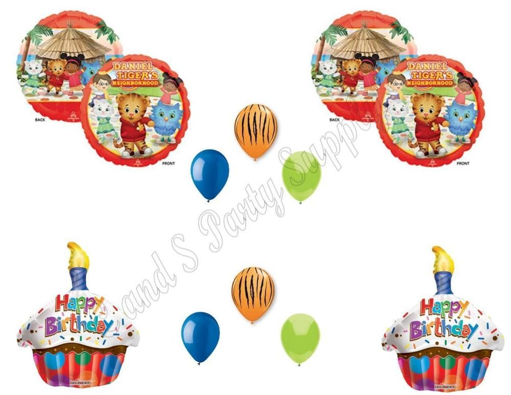 Birthday Party Balloons Decoration Supplies Cat Cake Rocker GARFIELD 4 pc