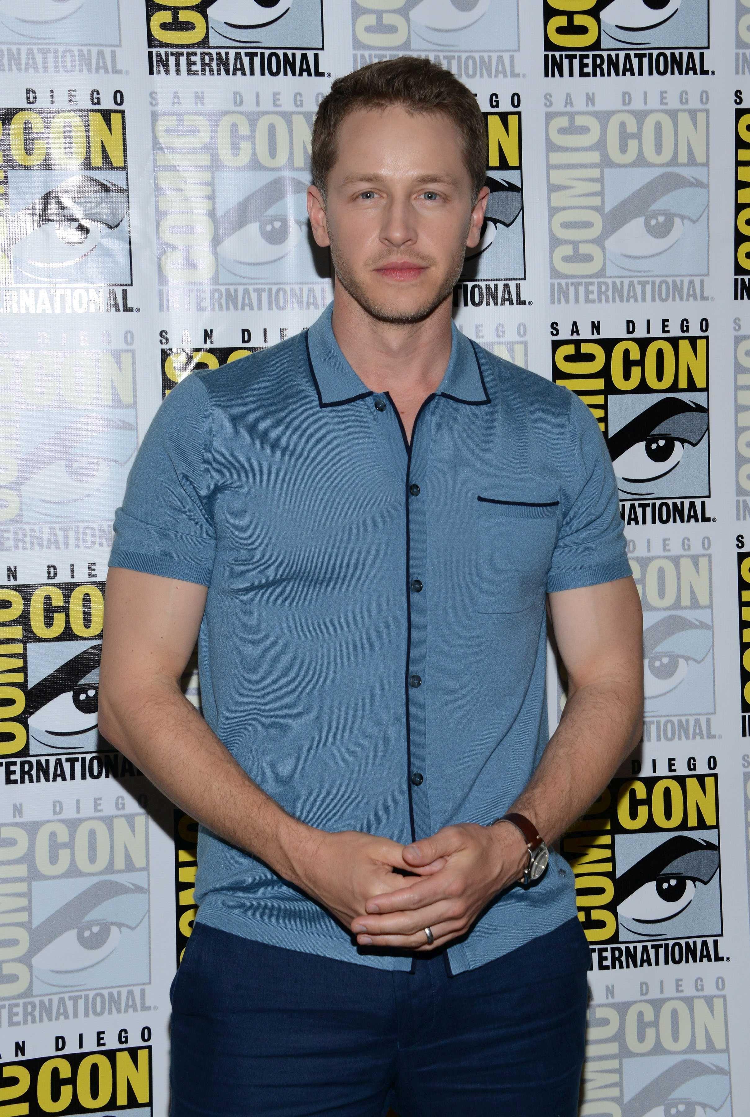Josh Dallas at San Diego Comic Con 23 July 2016
